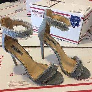Shoes - Pre-loved Cape Robbin Denim High Heels